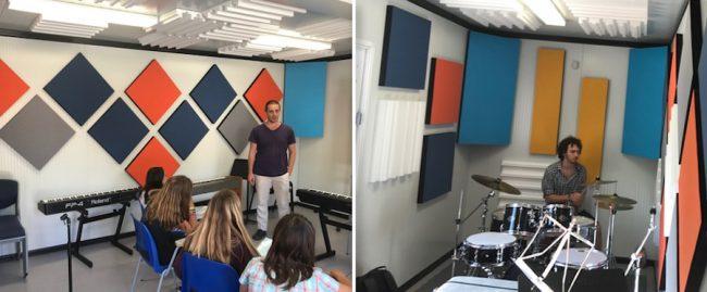 trattamento acustico box prefabbricato