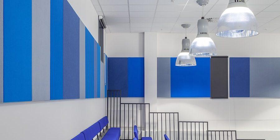 trattamento acustico scuola pannelli fonoassorbenti