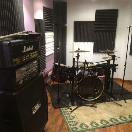 Trattamento acustico Recording Room / Sala prove