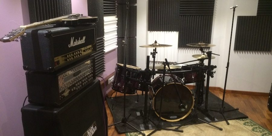trattamento acustico project studio , recording room