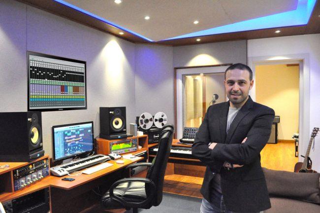 studio di registrazione custom