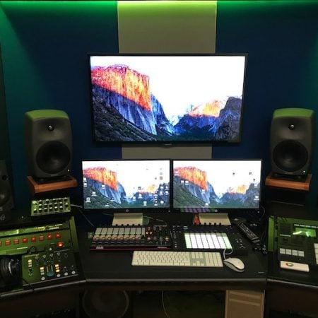 Control Room Custom per produzione di musica Elettronica.