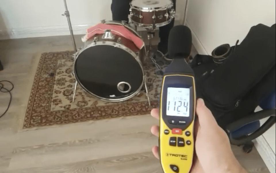 prova isolamento acustico sala prove