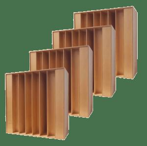 Diffusore QRD 1D legno 7 elementi economy pack