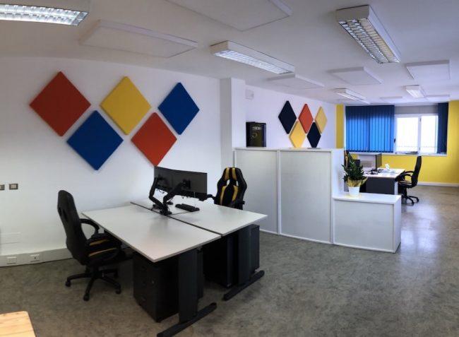 pannelli fonoassorbenti ufficio AUTEX APA