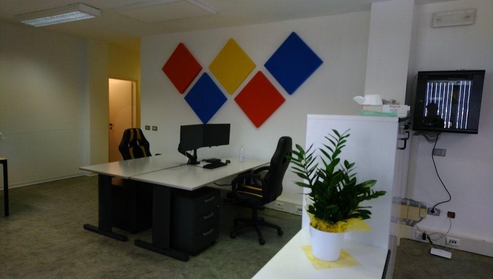 pannelli fonoassorbenti ufficio APA AUTEX