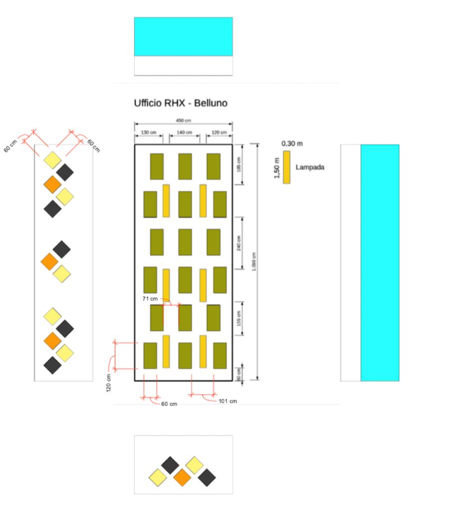 progetto pannelli fonoassorbenti ufficio