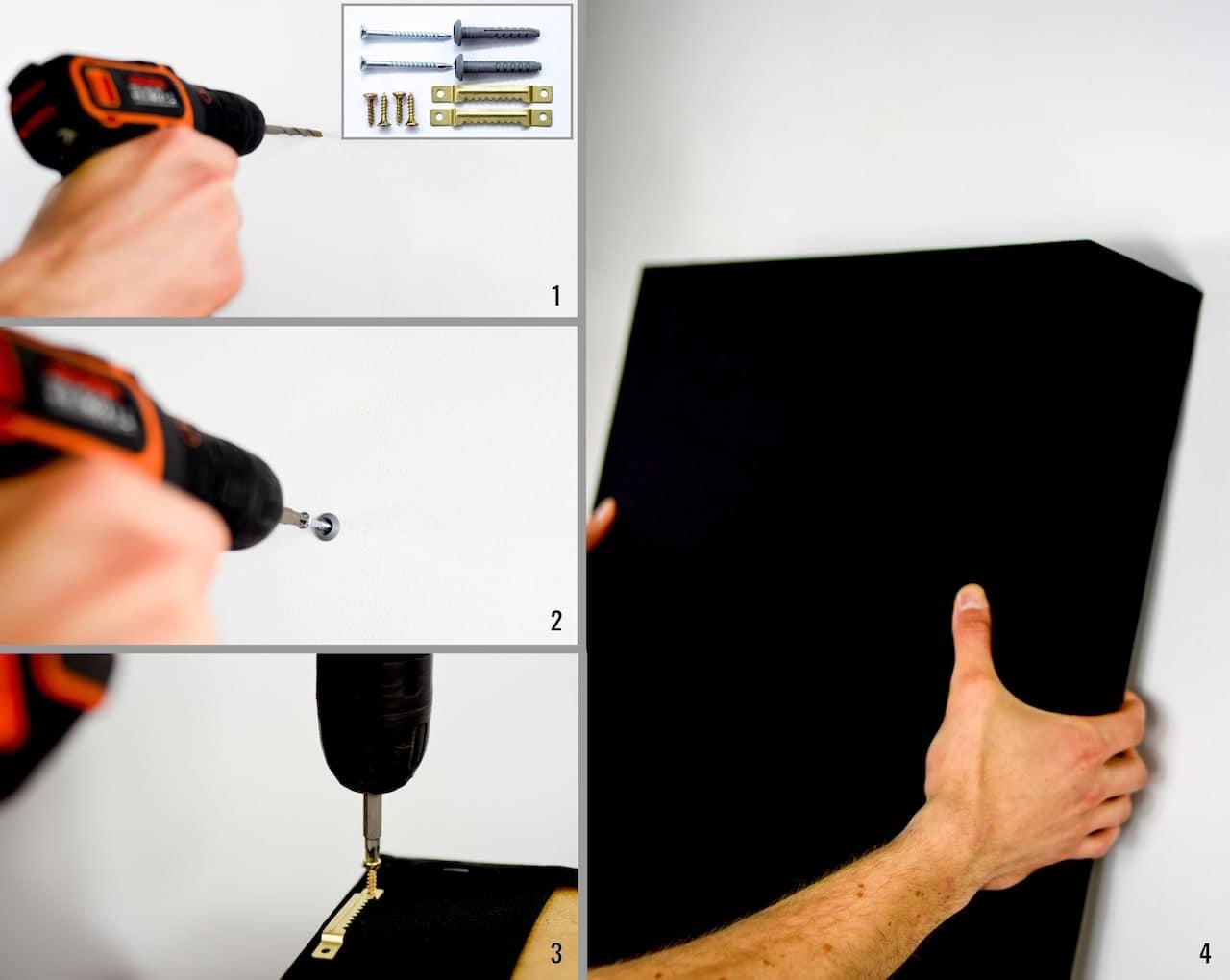 montaggio pannelli fonoassorbenti smart