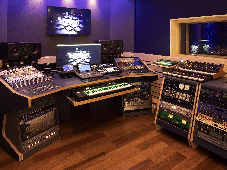 progetto custom studio di registrazione