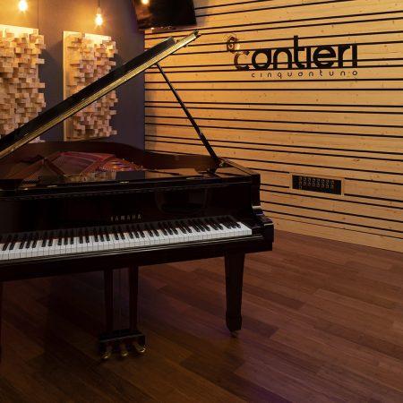 Trattamento acustico custom Studio di registrazione Cantieri 51
