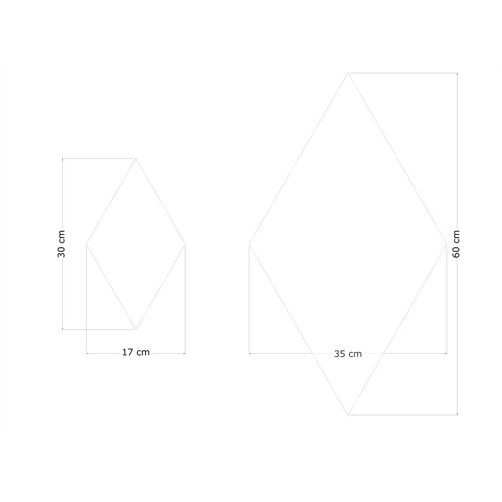 pannello fonoassorbente shape rombo