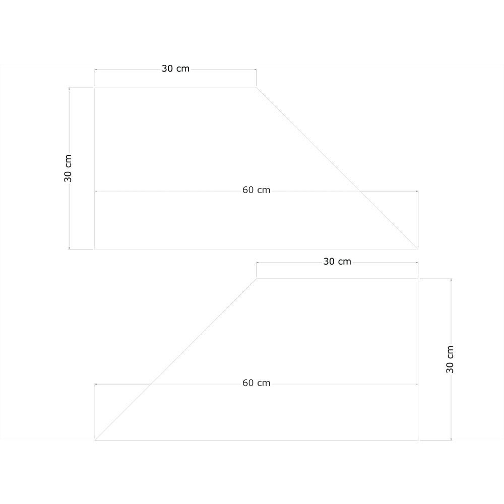 pannelli fonoassorbenti shape trapezio