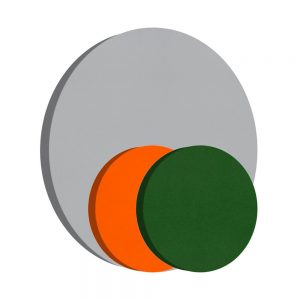 pannelli fonoassorbenti shapes cerchio