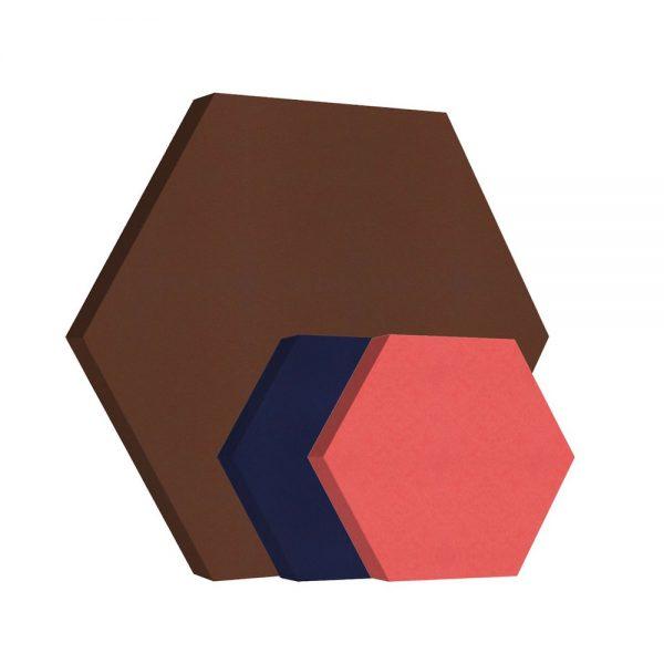 pannelli fonoassorbenti shapes esagono