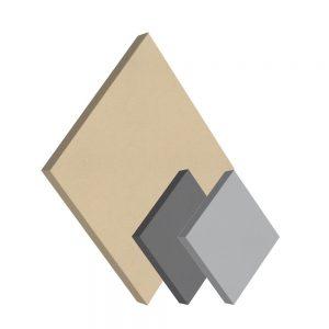 pannelli fonoassorbenti shapes quadrato