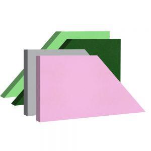 pannelli fonoassorbenti shapes trapezio