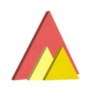 pannelli fonoassorbenti shapes triangolo
