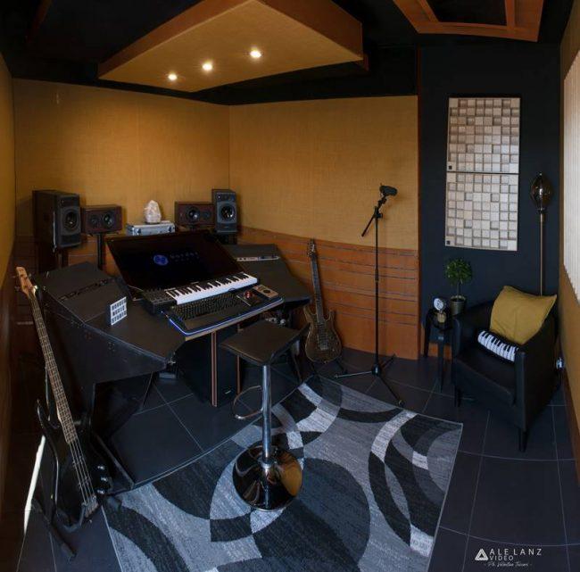 Border Music Studio progetto acustico custom