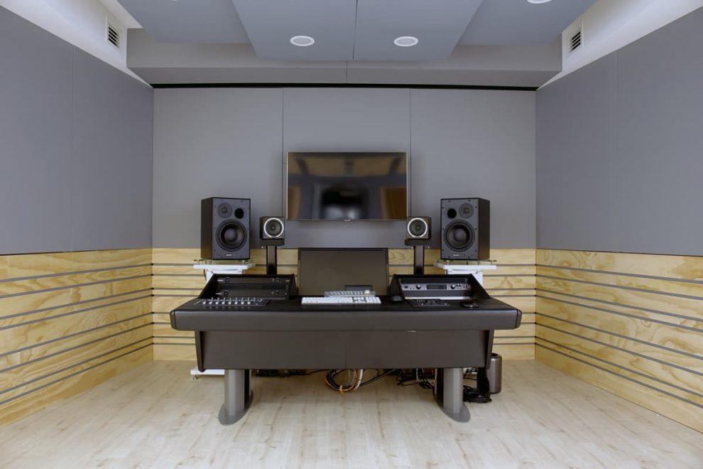 Studio di registrazione con progetto custom